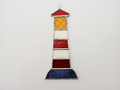 New Stained Glass Lighthouse Suncatcher