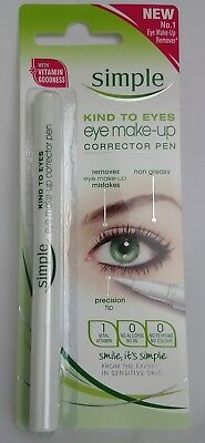 8 x  Simple Kind to Eyes Eye Make Up Corrector Pen LOW PRICE & FREE POSTAGE