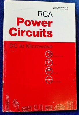 RCA Power Circuits-DC to Microwave 1969 TV Electronics Service SP-51 448 pgs