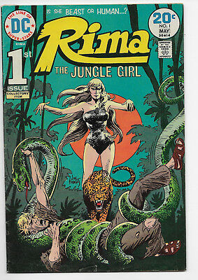 Rima The Jungle Girl 1 First Appearance