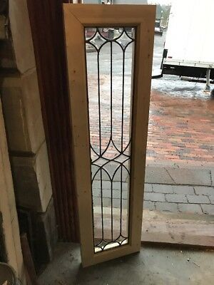 Sg 1667 Antique 4 avail.price each Beveled flatGlass Transom Window 12.75 X 46.7