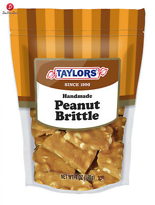Taylors Candy Peanut Brittle - Gusset Bag -Pack Of 4-
