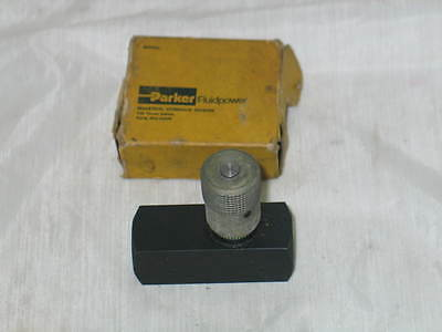 Parker Fluidpower F-600-S11 New Old Stock