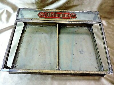 Vintage General Store Display Case for Wellington Pipes