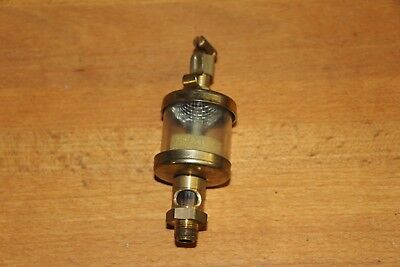"Oiler Brass 1/8"" NPT  old Engines vintage Machinery reproduction"