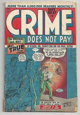 Crime Does Not Pay #67 - pre-code - Dan Berry, George Tuska, Fred Guardineer