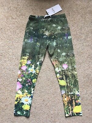 Girls M&S meadow print leggings Age 5 - 6 years, BNWT