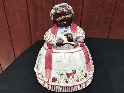 Black Mammy Cookie Jar