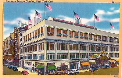 Vintage Postcard Of Madison Square Garden, New York City, NY Long Ago