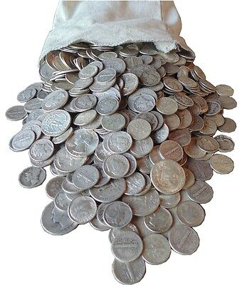 Junk Drawer $ 1 Dollar Face Value 90% Us Silver Coins And 20 World Coins Lot Zab