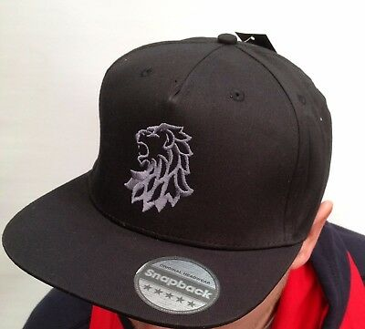 Official Edinburgh Capitals Black Snapback Cap