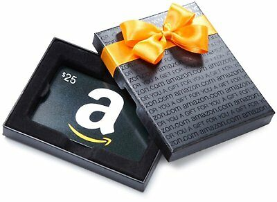 $25 Amazon Gift Card - Physical delivery only