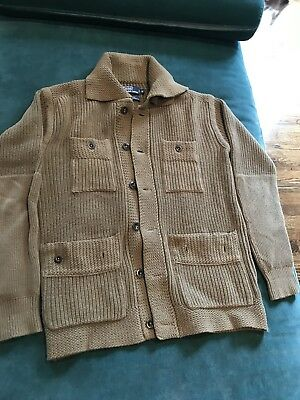 polo ralph lauren military cotton sweater size M
