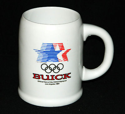 BUICK STAG DAY 1983 1984 Los Angeles Olympics Mug Stein Papel General Motors