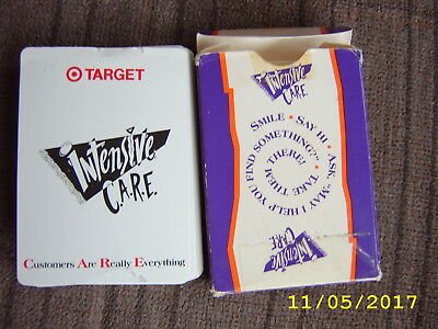 PENN & TELLER TARGET STORE Promoting Customer Service Vintage Playing Cards