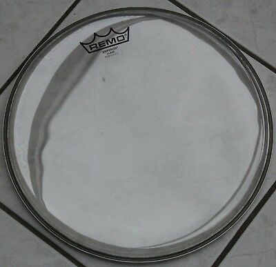 "Remo 12"" Emperor Clear - Schlagfell transparent - NEU"