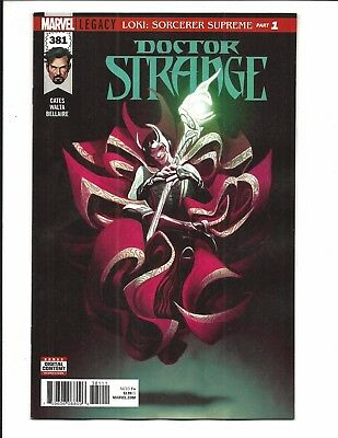 DOCTOR STRANGE # 381 (Marvel Legacy, JAN 2018), NM NEW