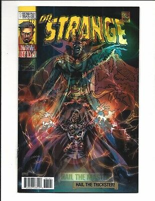 DOCTOR STRANGE # 381 (Marvel Legacy, LENTICULAR 3-D VARIANT, JAN 2018), NM NEW