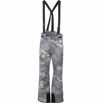 SPYDER Men's Axel Full Side Zip Pants Grey Camouflage - sizes S M L - rrp £170
