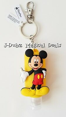NEW Disney Parks Mickey Mouse Hand Sanitizer Keychain