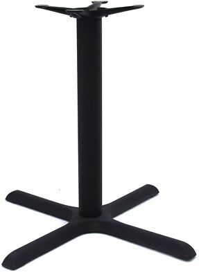 Cain X-Base For 36-42' Table Tops- Black