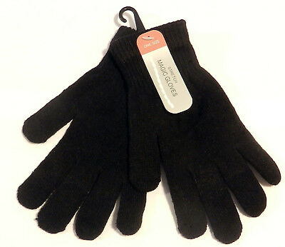 Thermal Magic Gloves One Stretch Men's Woman's One Size Winter Warm