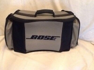 Bose Acoustic Wave Music System Cd 3000 Power Pack Travel Case Tote Carry Bag
