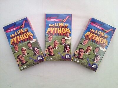 Monty Python The Life of Python 3 VHS Box Set Lost German  & More RARE A&E BBC