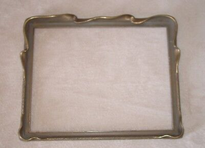 Beautiful Edward Curtis Style Art Nouveau Scalloped / Hooded Antique Frame