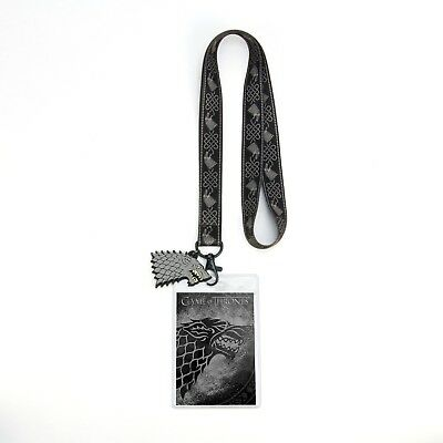 Game Of Thrones House Of Stark Lanyard  New In Package