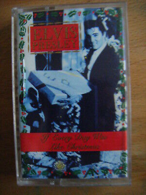 Elvis Presley - If Everyday Was Like Christmas  - cassette **NEW NOT SEALED**