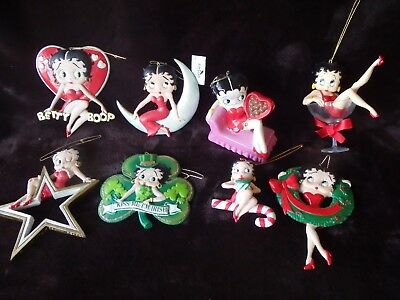 Betty Boop Ornament Collection