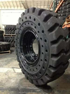 13.00x24 1300x24 1300-24 SOLID TIRE AND WHEEL ASSEMBLIY