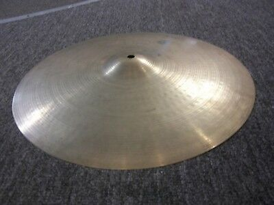 """Vintage Zildjian Hollow Logo 16"""" Ride Cymbal  Made in the USA!"""