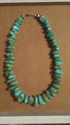 Turquoise Chunk Navajo Mint/teal Green Amazing Rare Color