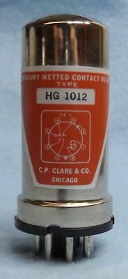 C.P. CLARE HG1012 HG-1012 VINTAGE MERCURY WETTED CONTACT RELAY 3-pcs Available