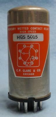 C.P. CLARE HGS5015 HGS-5015 VINTAGE MERCURY WETTED CONTACT RELAY 6-pcs Available