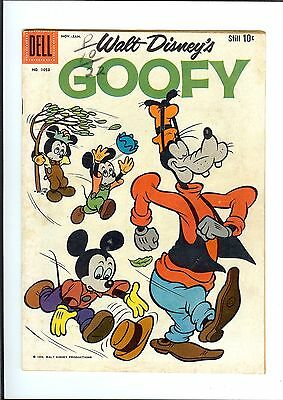 Goofy #1053 1960 Dell Four Color Walt Disney Mickey Mouse Gd/vg