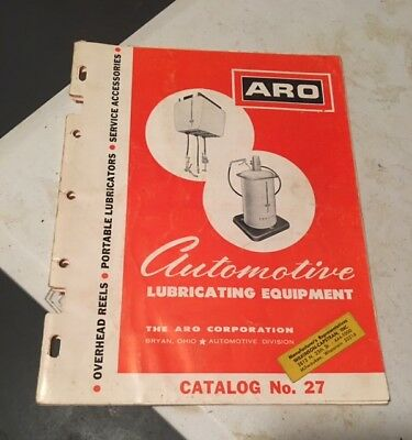 Vintage ARO Gas Service Station Oil Grease Lubester Pump Catalog 1965