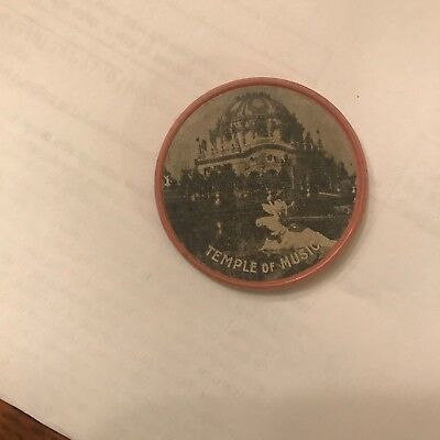 1901 Pan American Expo Encased Cent