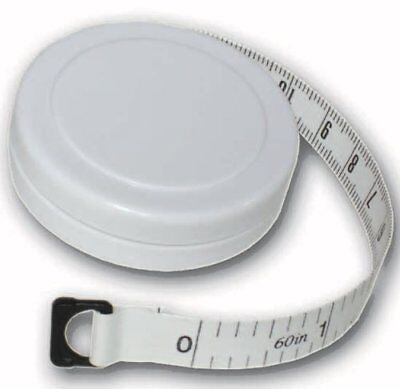 "1.5m/60"" Round Fabric Tape Measure with Casing"