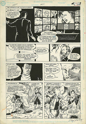 Mister Miracle 15 ORIGINAL ART PAGE 21 Joe Phillips 1990 DC Comics Pencil & Ink