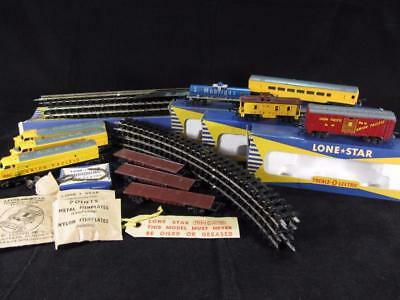 Lone Star Treble OOO Union Pacific F7 Engine Tanker Coach Car Train Set N Scale