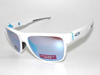 3be44a9f4ca Oakley Sunglasses Crossrange Xl 9360-08 Polished White Prizm Sapphire Snow