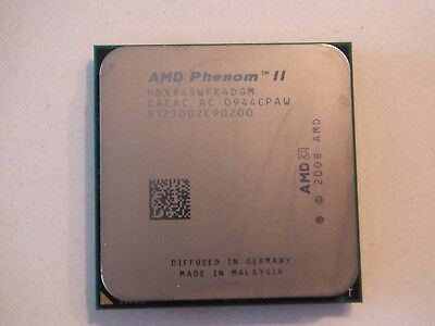 AMD Phenom II X4 945 3.0Ghz quad core 95watt - HDX945WFK4DGM