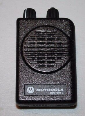 Motorola Minitor V A03KMS9239BC 2 Channel SV VHF High Band 151-158.9975 Pager  B