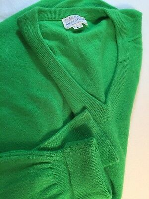 LILLY PULITZER Mens Stuff, Palm Beach, Green Acrylic Sweater, Vintage, Large