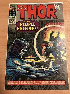 Thor #134 (1st Appearance of the High Evolutionary!)