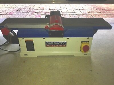 Carbatec Benchtop Jointer *$1 NR*