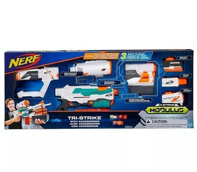 Brand NEW Nerf Modulus Tri-Strike Value Pack B8994T0D0